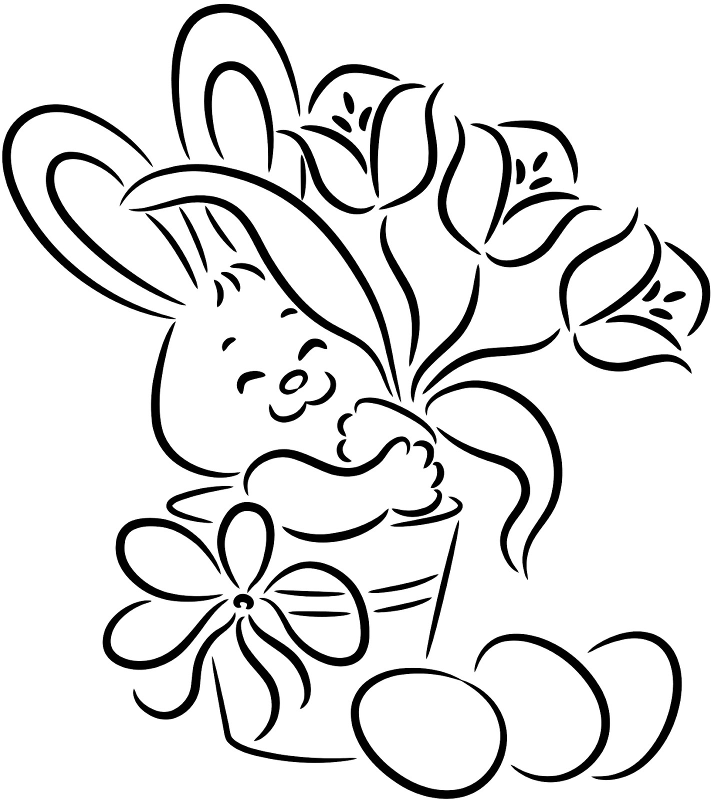 bunny coloring pages free coloring page bunny berry coloring free bunny pages