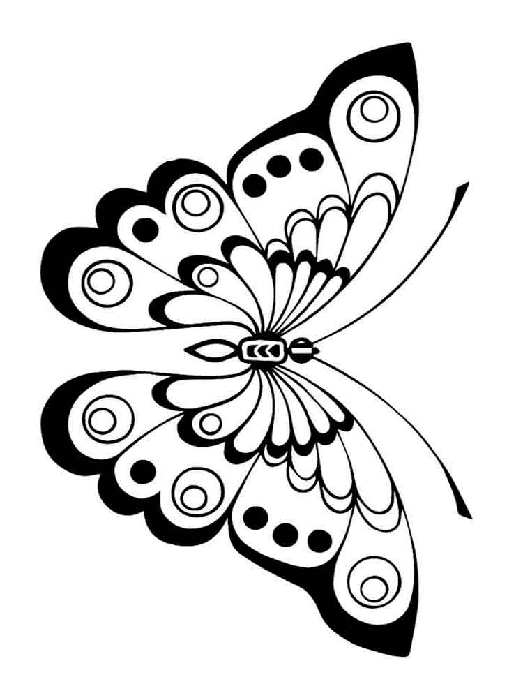 butterfly coloring pages free butterfly coloring pages for kids butterfly coloring free pages