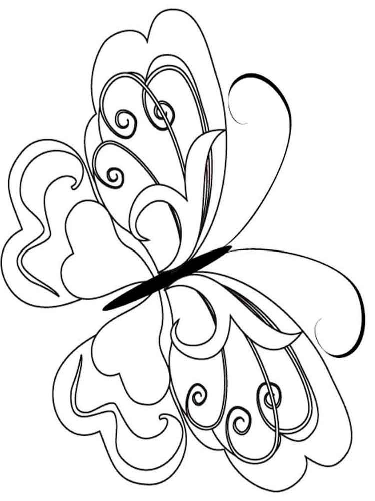 butterfly coloring pages free butterfly my coloring land coloring free pages butterfly