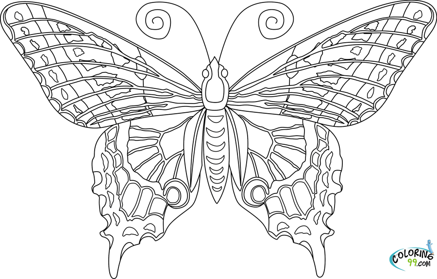 butterfly coloring pages free get this difficult butterfly coloring pages for adults free pages butterfly coloring