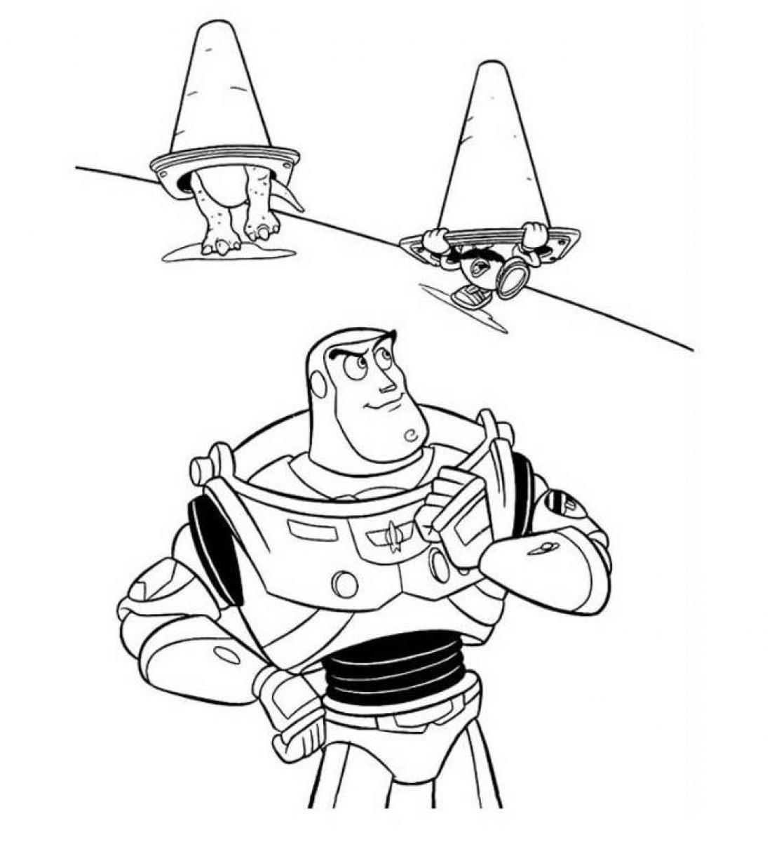 buzz lightyear printable coloring pages buzz lightyear coloring page toy story coloring pages lightyear printable buzz pages coloring