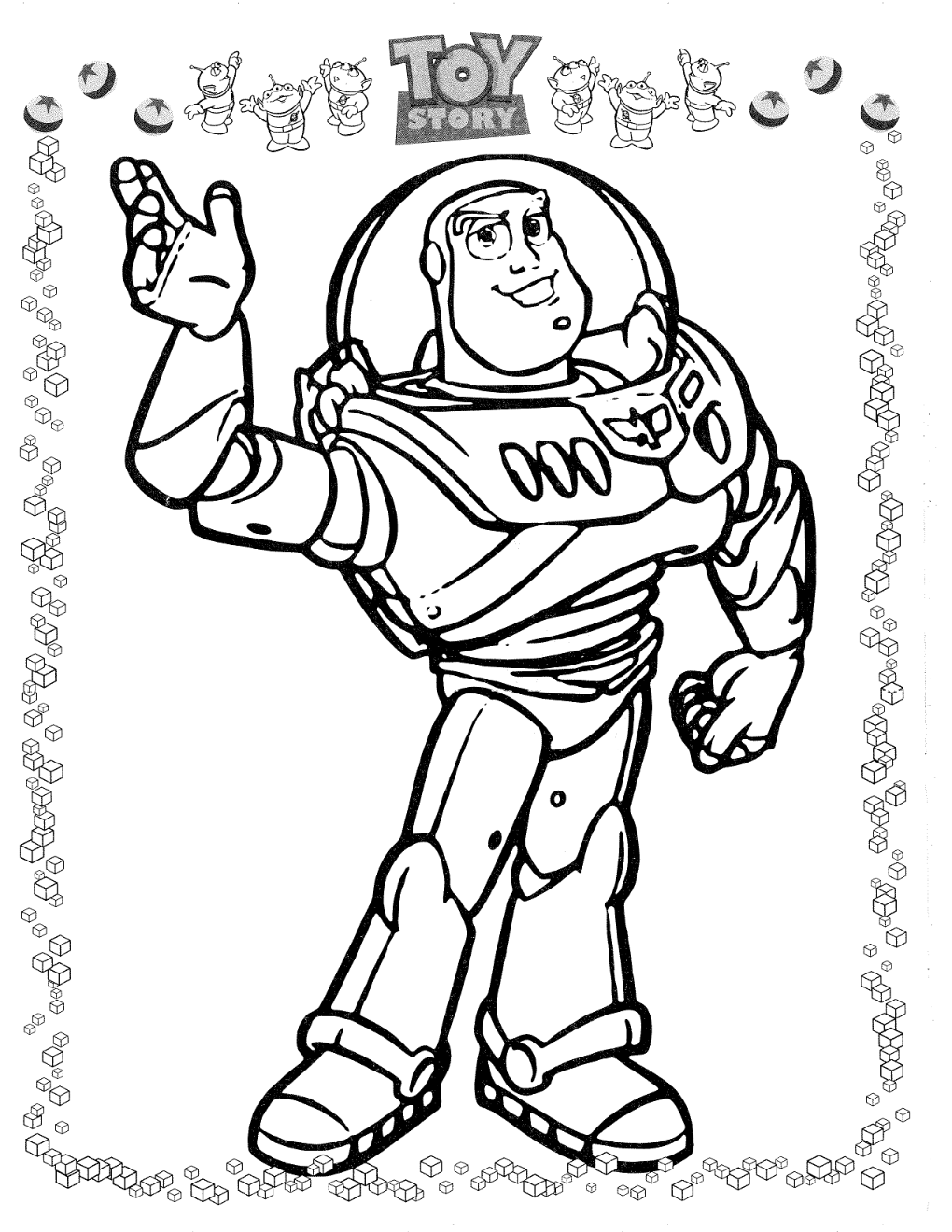 buzz toy story 4 coloring pages buzz is ready for rescue in toy story coloring page 4 coloring toy buzz pages story