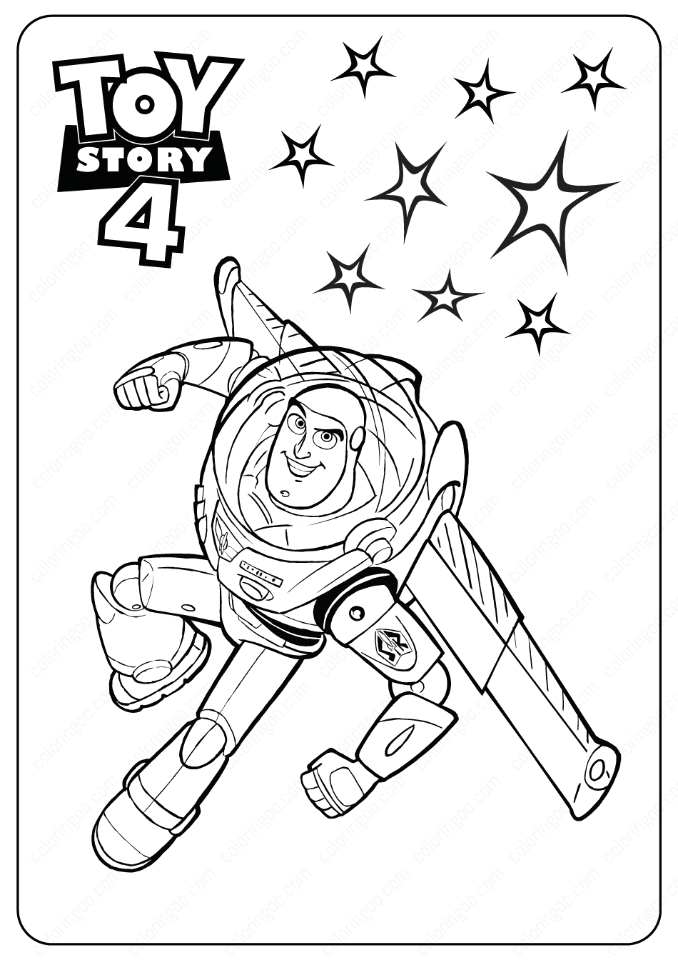 buzz toy story 4 coloring pages free printable buzz lightyear coloring pages for kids toy 4 coloring pages buzz story