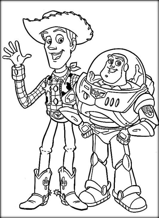 buzz toy story 4 coloring pages toy story buzz lightyear skating coloring pages toy coloring 4 pages story toy buzz