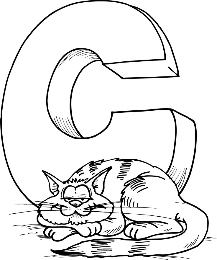 c coloring page be creative with abc coloring pages coloring page c