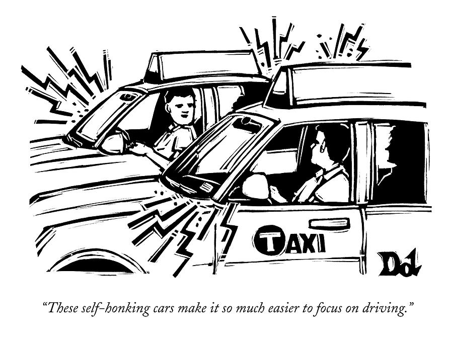 cab drawing two cab drivers speak to each other drawing by drew dernavich drawing cab