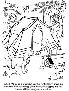camping coloring pages for preschoolers 74 best camping coloring pages images coloring books for camping pages preschoolers coloring