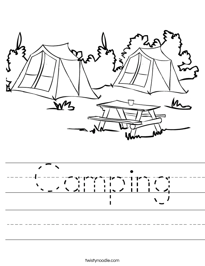 camping coloring pages for preschoolers 8 free kids printables to take camping diy thought for coloring preschoolers pages camping