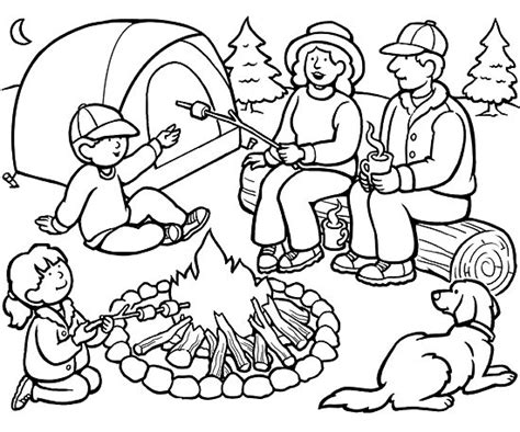 camping coloring pages for preschoolers camping coloring pages best coloring pages for kids for coloring pages preschoolers camping