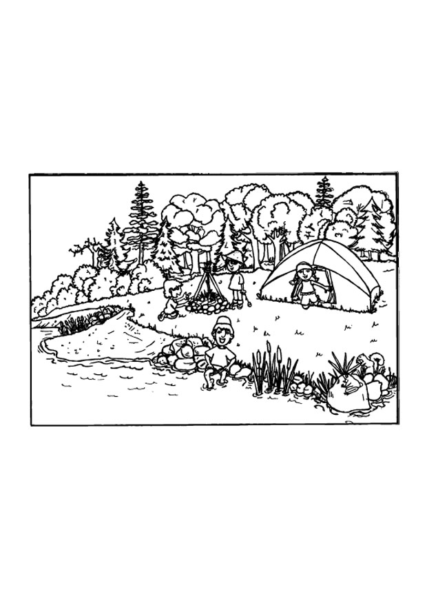 camping coloring pages for preschoolers camping coloring pages to print printable free coloring pages preschoolers camping coloring for