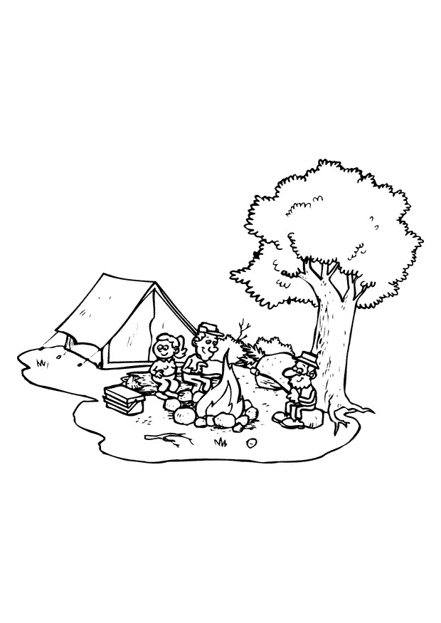 camping coloring pages for preschoolers craftsactvities and worksheets for preschooltoddler and coloring for pages camping preschoolers