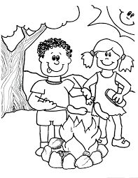 camping coloring pages for preschoolers wwwpreschoolcoloringbookcom camping coloring page coloring for pages camping preschoolers