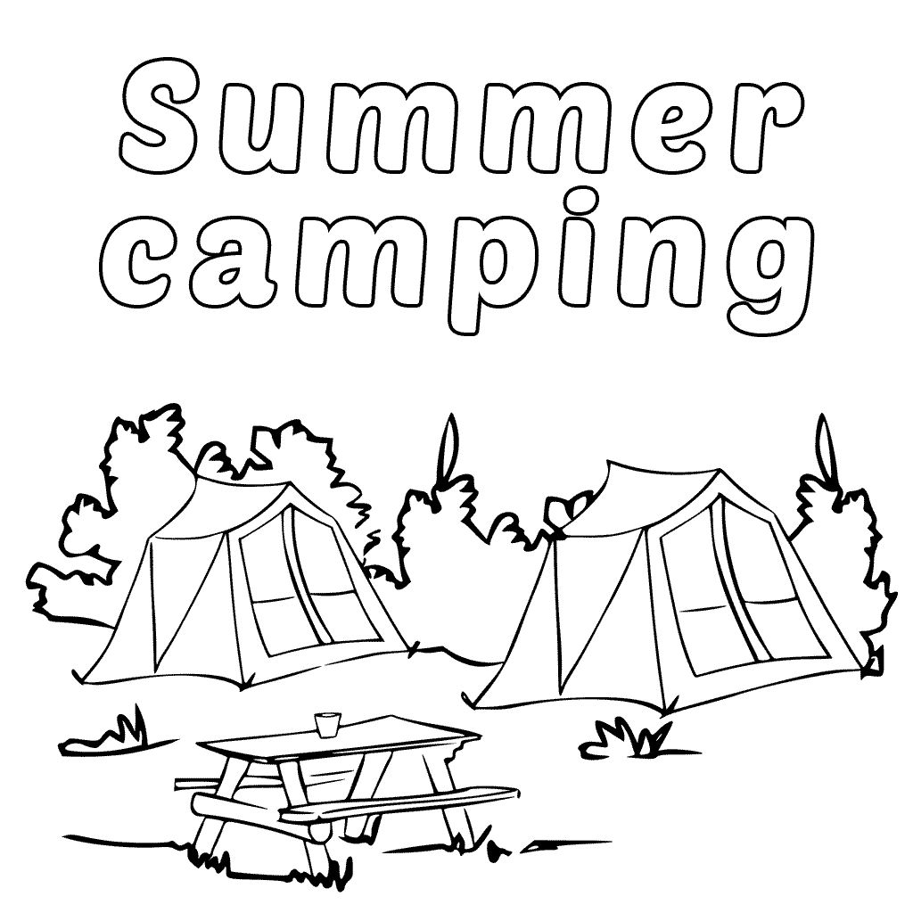 camping coloring pages fun coloring pages camping coloring pages pages coloring camping