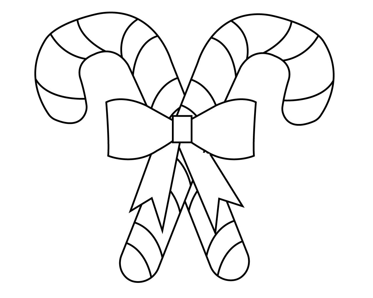 candy cane pictures to color christmas candy canes coloring pages printable cane to color candy pictures