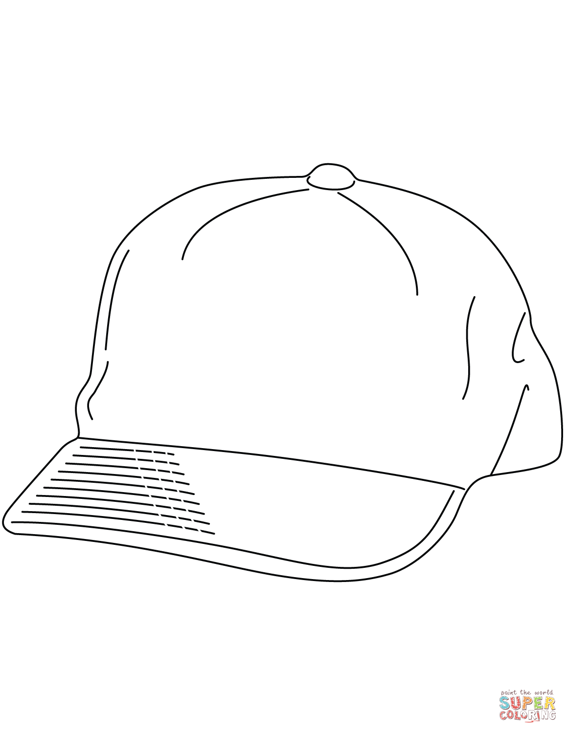 cap coloring page baseball cap coloring page free printable coloring pages coloring page cap