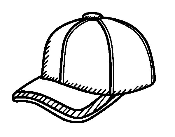 cap coloring page caps drawing at getdrawings free download cap page coloring