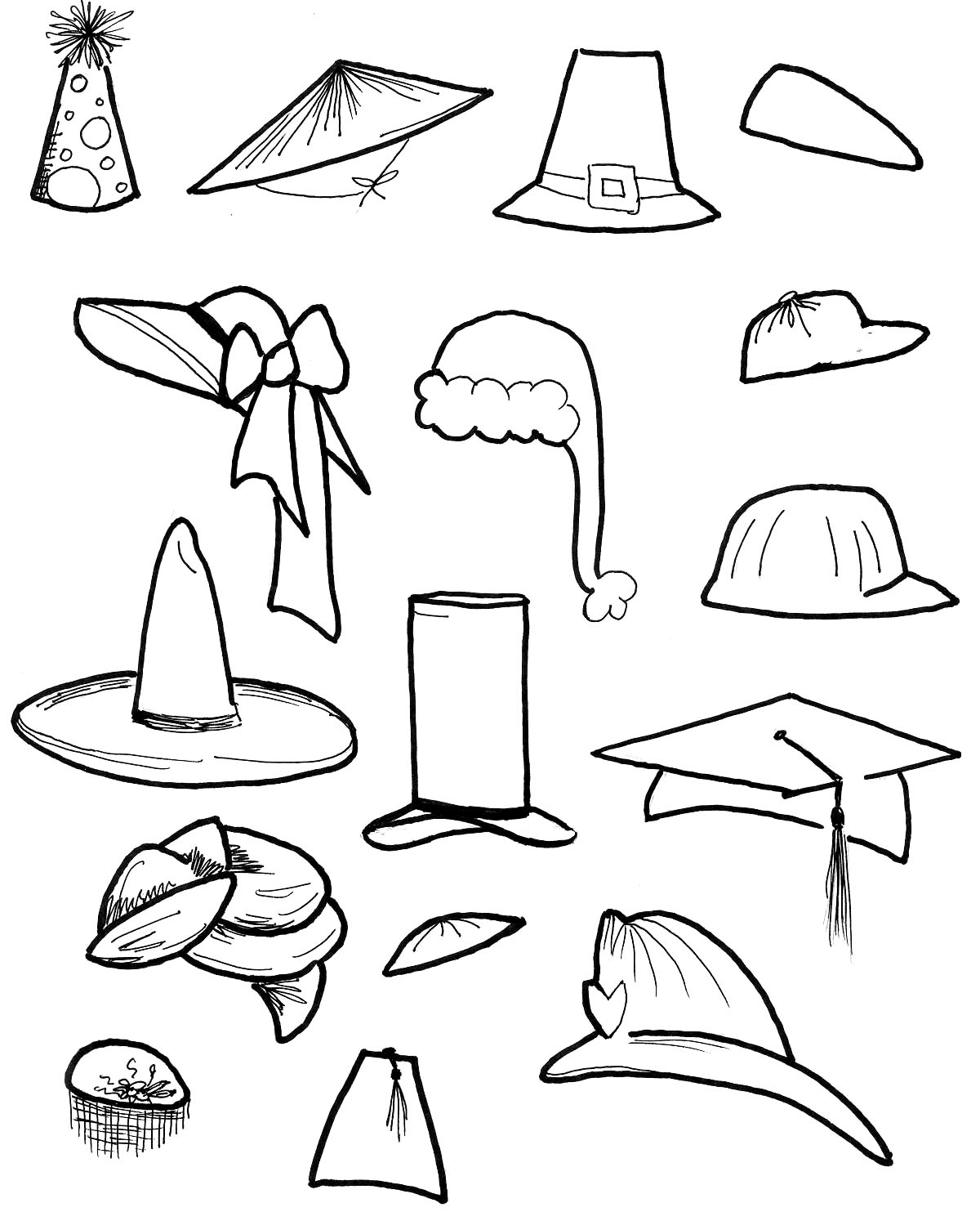 cap coloring page graduation cap drawing at getdrawings free download page cap coloring