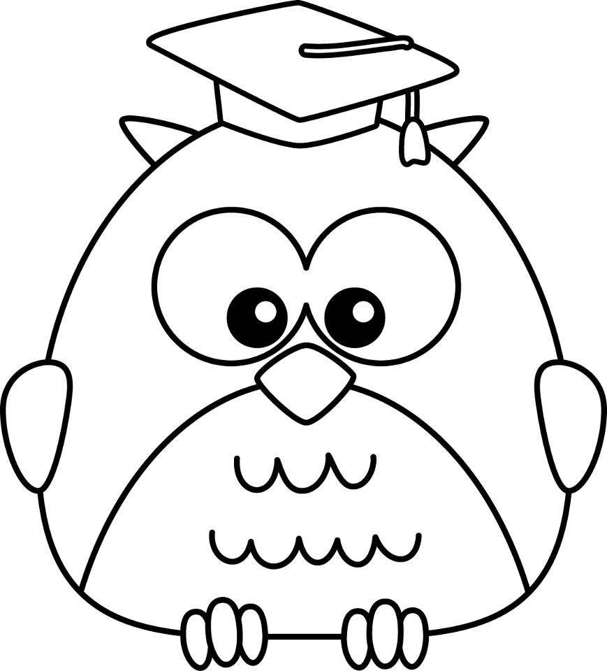 cap coloring page graduation cap drawings free download on clipartmag page coloring cap