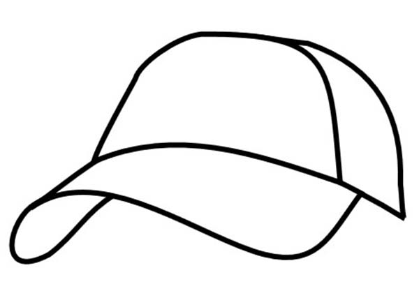 cap coloring page image of baseball cap coloring page image of baseball cap page cap coloring