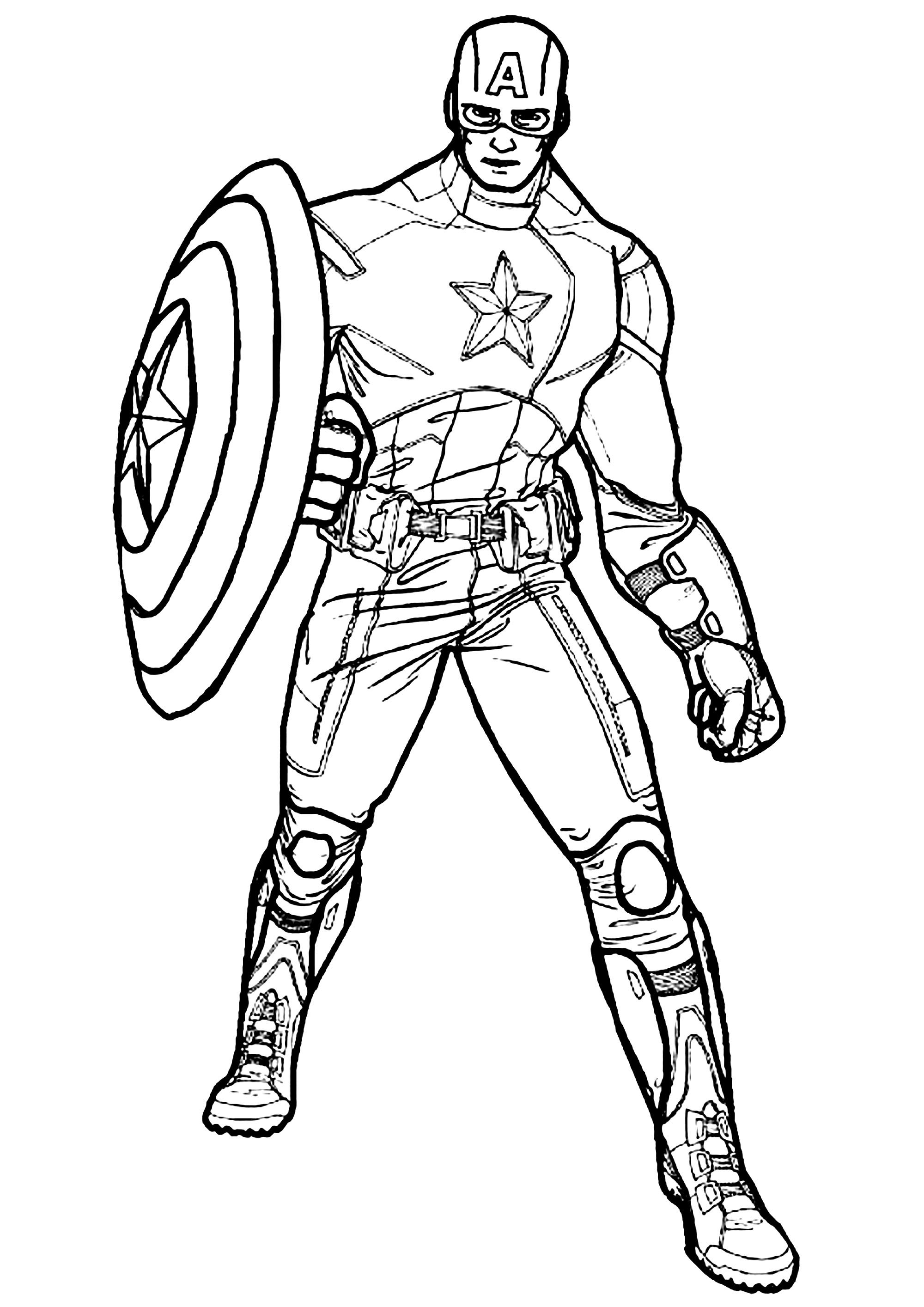 captain america for coloring captain america coloring pages to download and print for free for america coloring captain