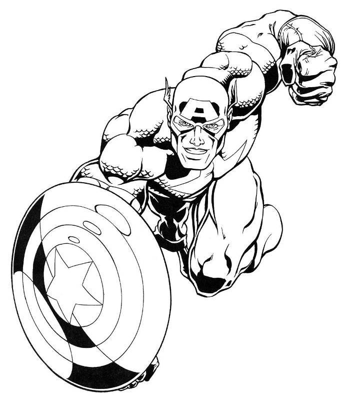 captain america for coloring captain america coloring pages to download and print for free for captain coloring america