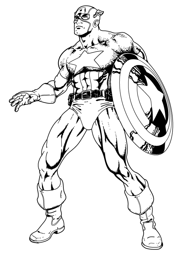 captain america for coloring free printable captain america coloring pages for kids for coloring captain america