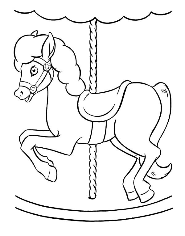 carousel horse coloring pages 143 best color carousel animals images on pinterest horse carousel pages coloring
