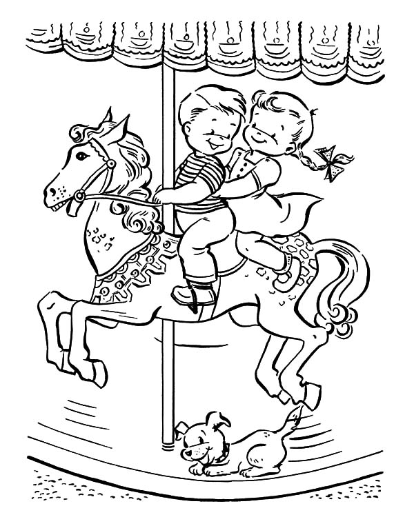 carousel horse coloring pages beautiful carousel horse coloring pagesjpg 600648 pages carousel coloring horse