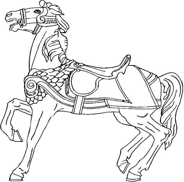 carousel horse coloring pages carnival carousel horse coloring pages best place to color coloring pages horse carousel