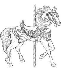 carousel horse coloring pages carousel coloring pages getcoloringpagescom coloring pages carousel horse