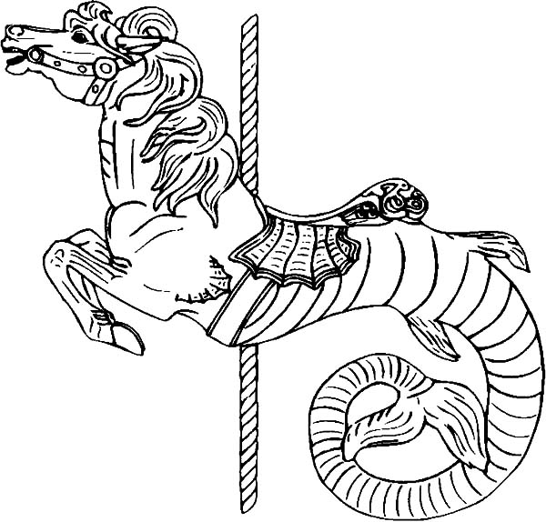 carousel horse coloring pages carousel horse hippocampus coloring pages carousel horse pages carousel horse coloring