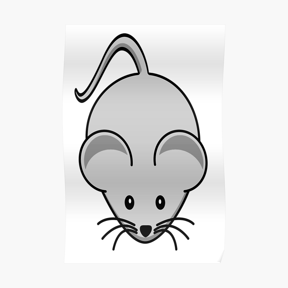 cartoon mouse quotmice little mouse cute cartoonquot poster by cartoon mouse