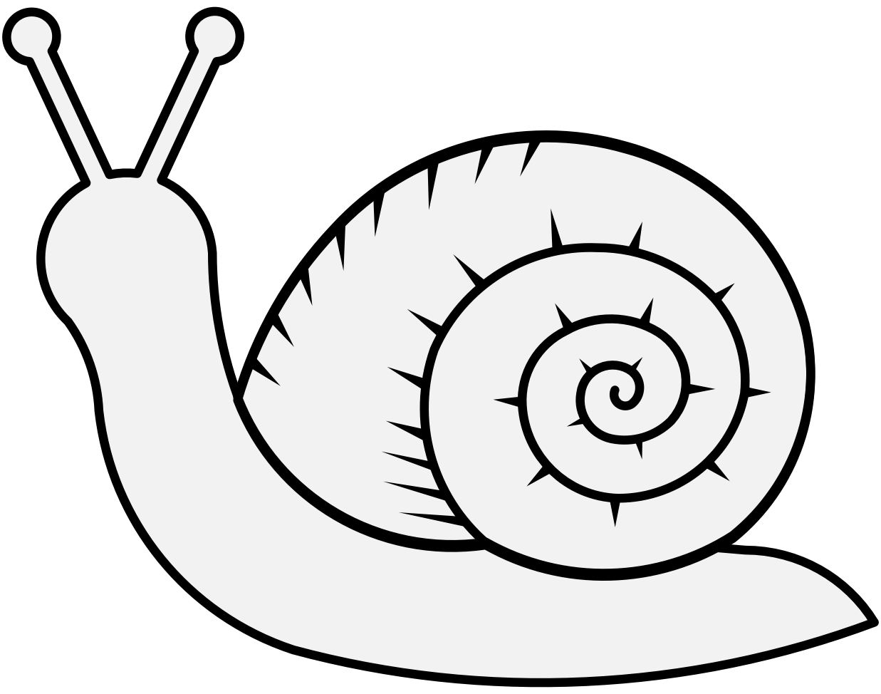 cartoon snail snail line drawing free download on clipartmag snail cartoon