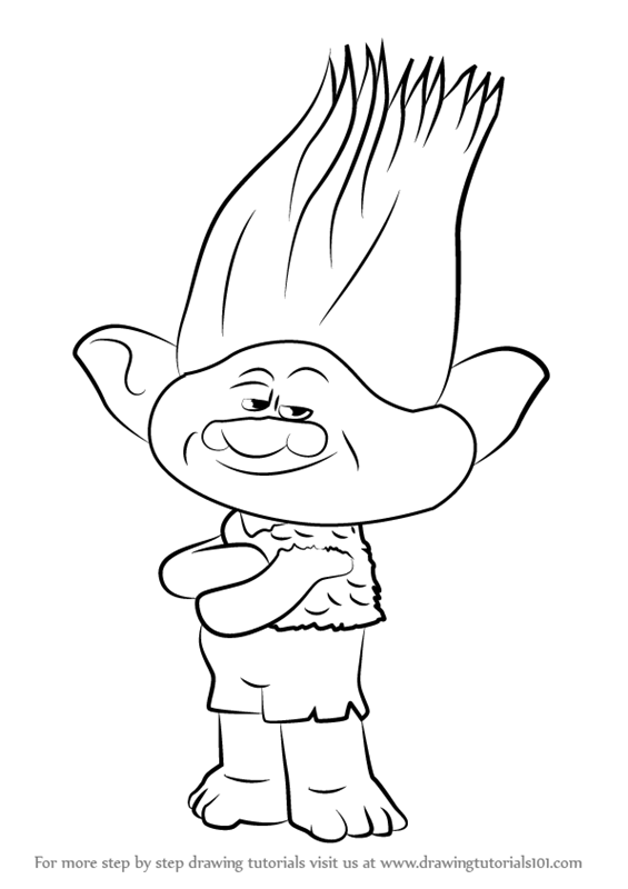 cartoon trolls pictures troll doll drawing at getdrawings free download cartoon trolls pictures