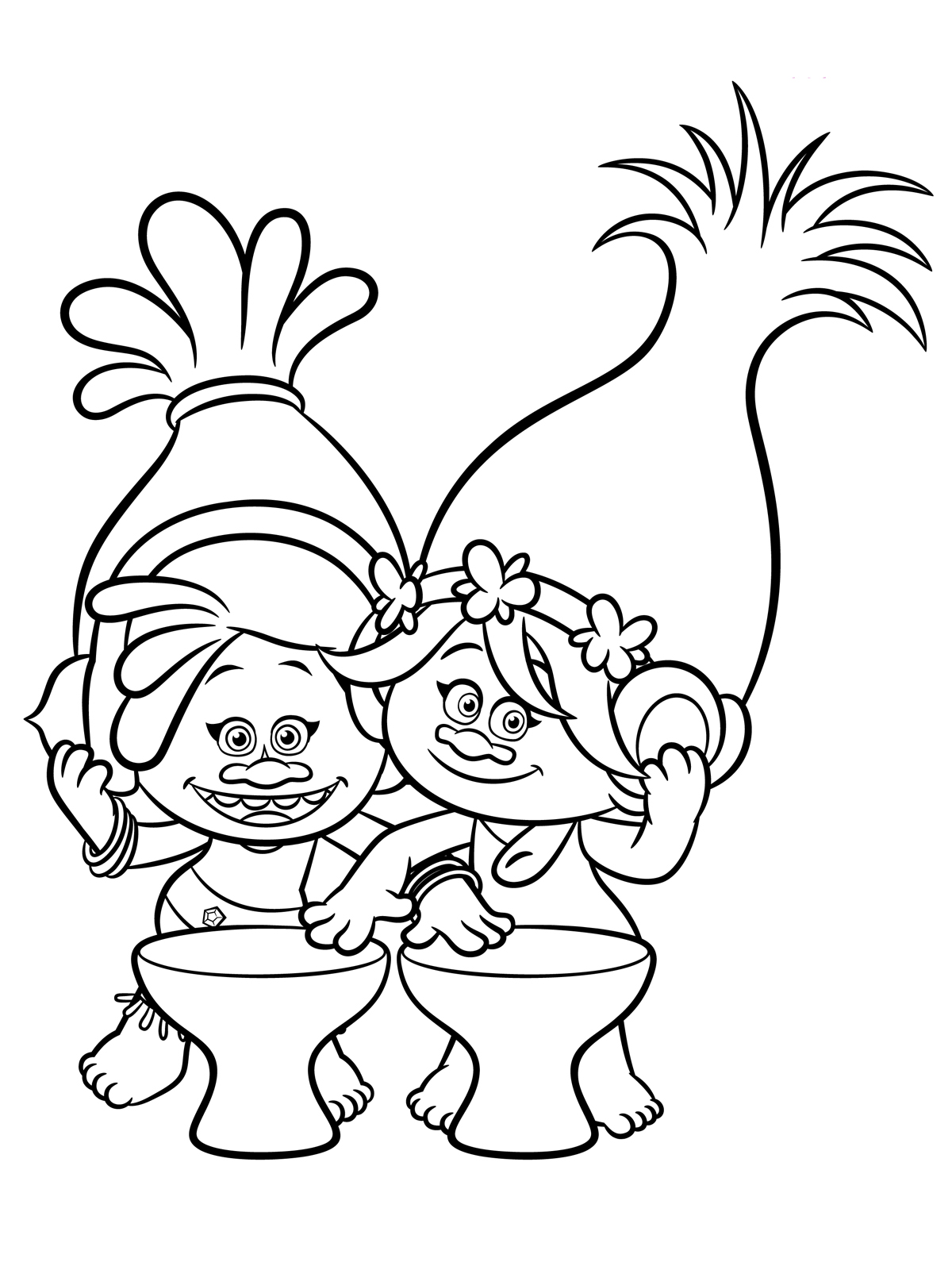 cartoon trolls pictures trolls coloring pages to download and print for free trolls cartoon pictures