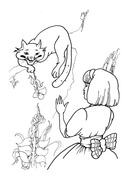 cat and bunny coloring page littlest pet shop online game cat and dog lovers page and coloring bunny cat