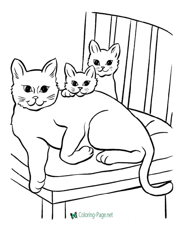 cat pictures to print 10 free printable cat coloring pages for kids hubpages print pictures to cat