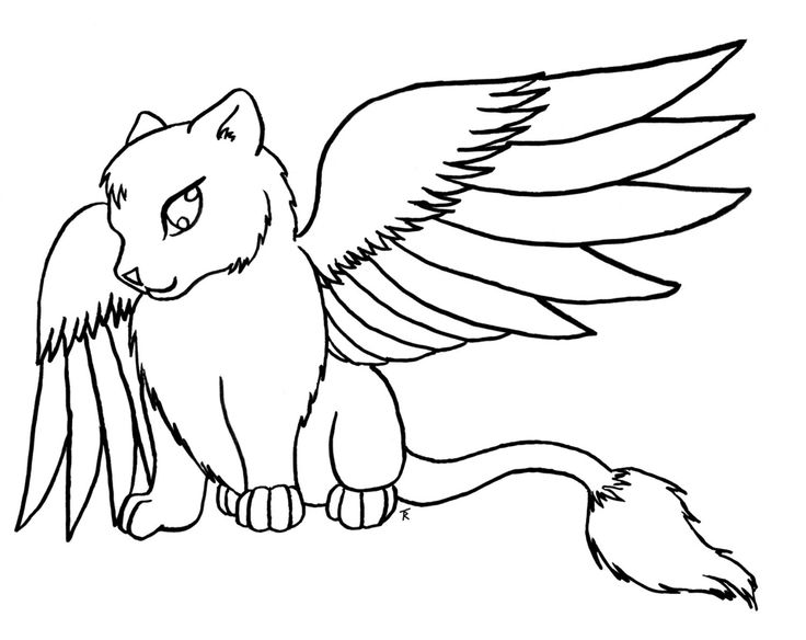cat with wings coloring pages coloring pages for teenagers difficult fairy google cat pages coloring with wings