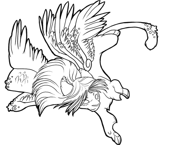 cat with wings coloring pages griffin winged cat coloring pages print coloring 2019 pages with cat coloring wings