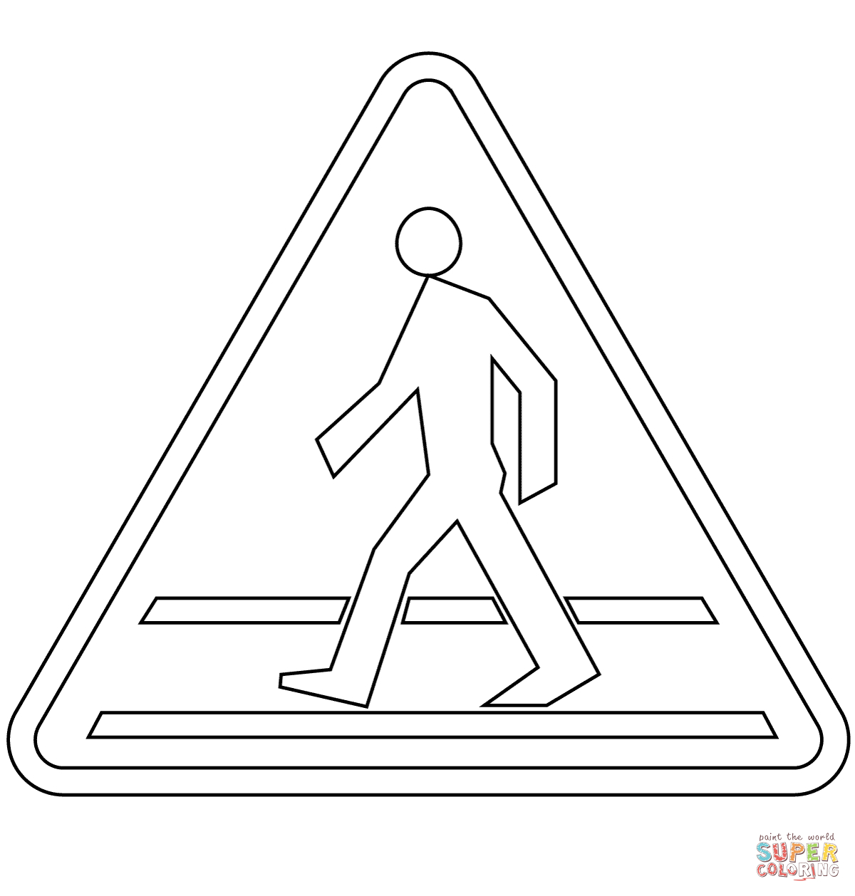 caution sign coloring page free safety signs coloring pages download free clip art sign page coloring caution