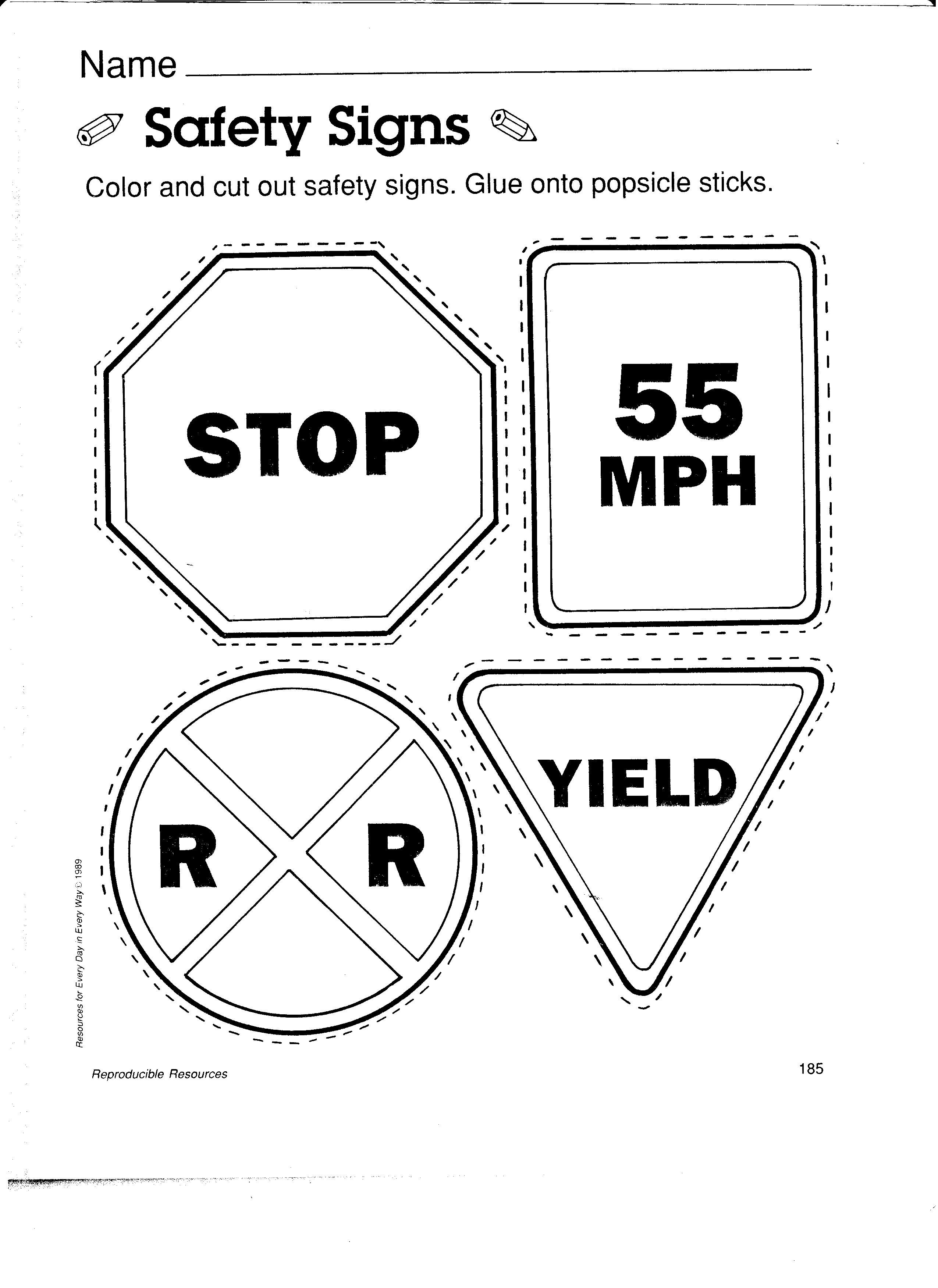 caution sign coloring page safety coloring printable for kids do not open the page sign caution coloring