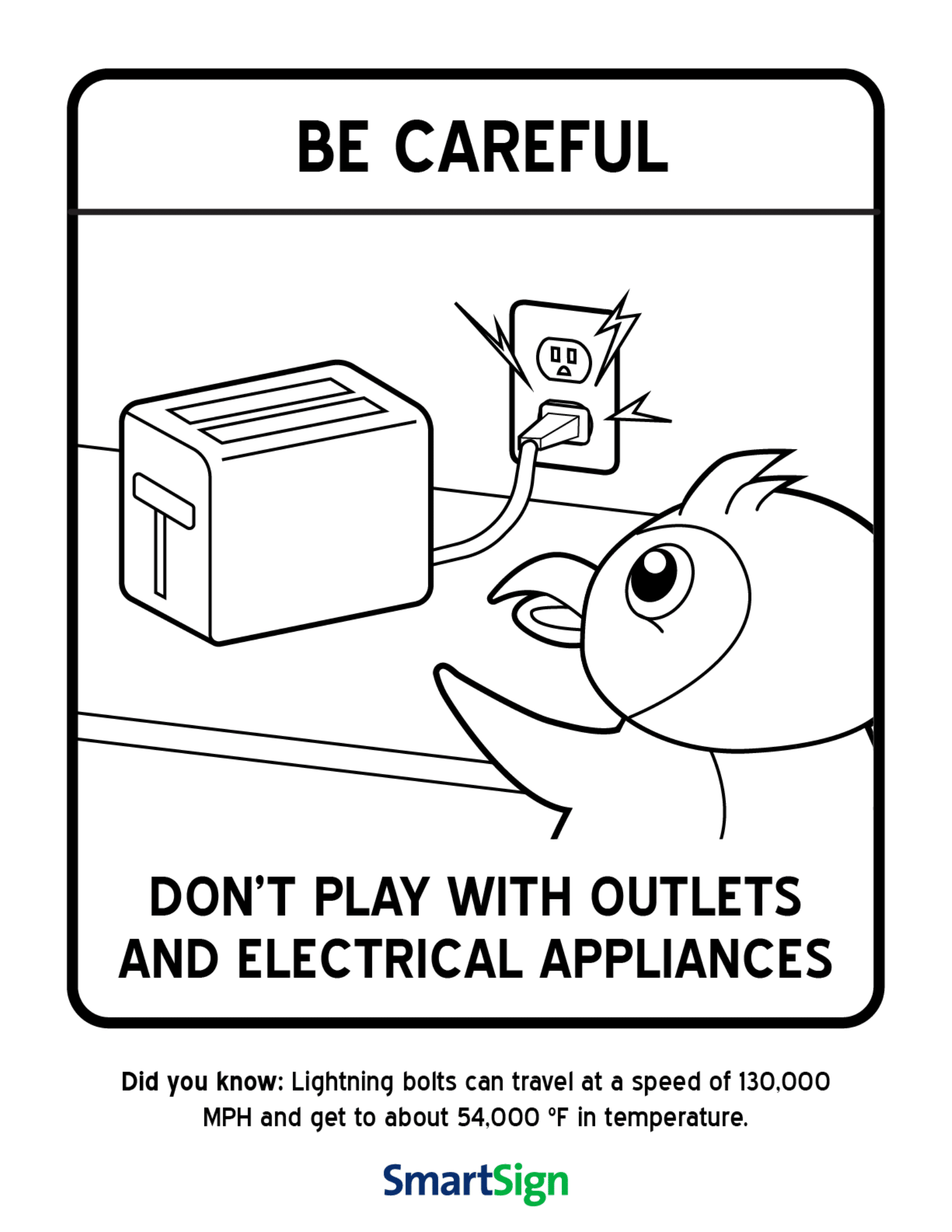 caution sign coloring page safety coloring printable for kids don39t play with coloring page caution sign