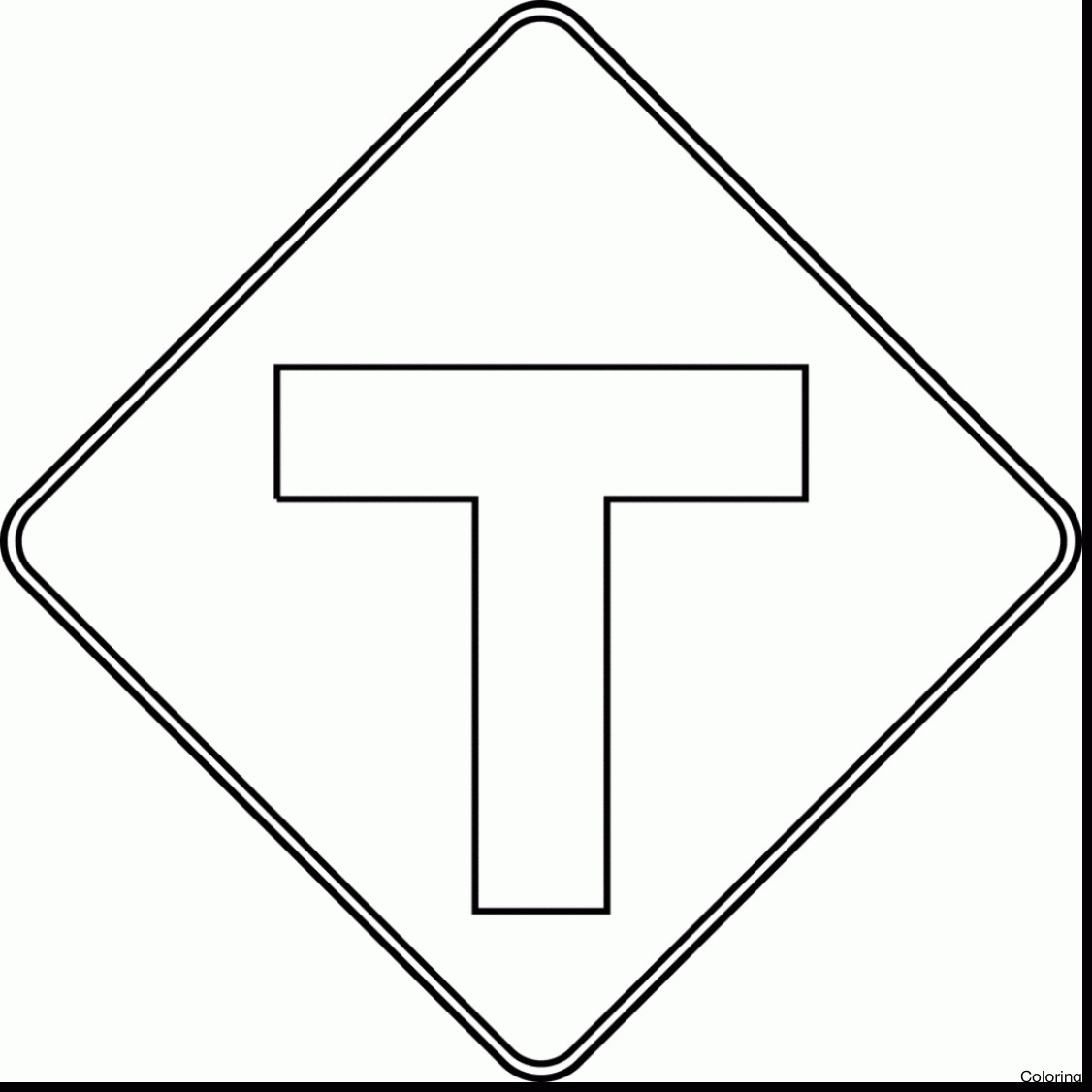 caution sign coloring page safety sign coloring page early childhood curriculums page sign caution coloring