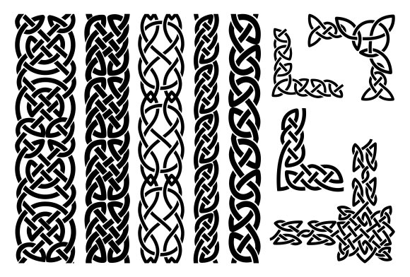 celtic patterns 253 best images about borders illuminated examples from celtic patterns