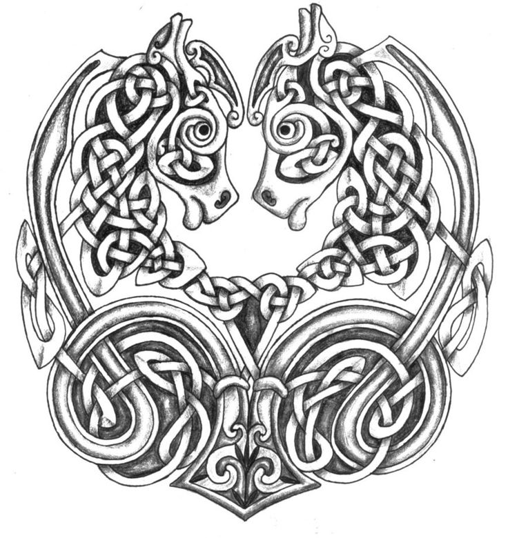 celtic patterns celtic horses shaded by feivelyn celtic designs celtic patterns celtic