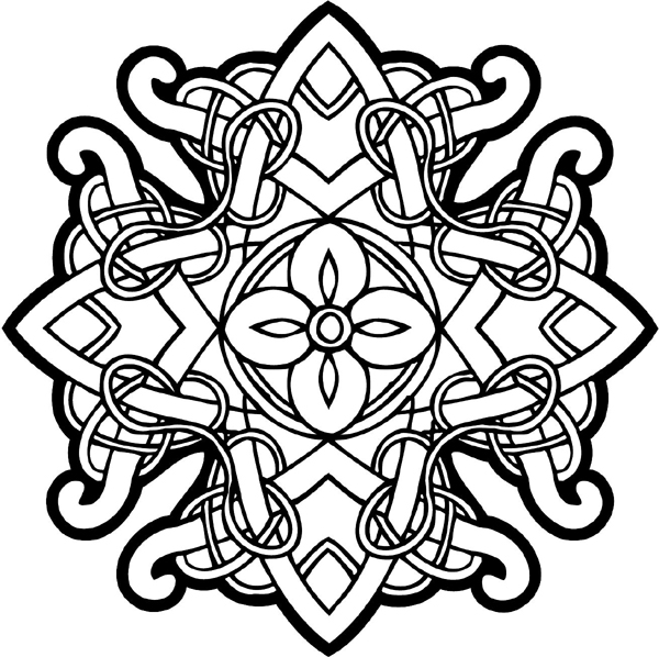 celtic patterns signspecialistcom general decals celtic intricately patterns celtic