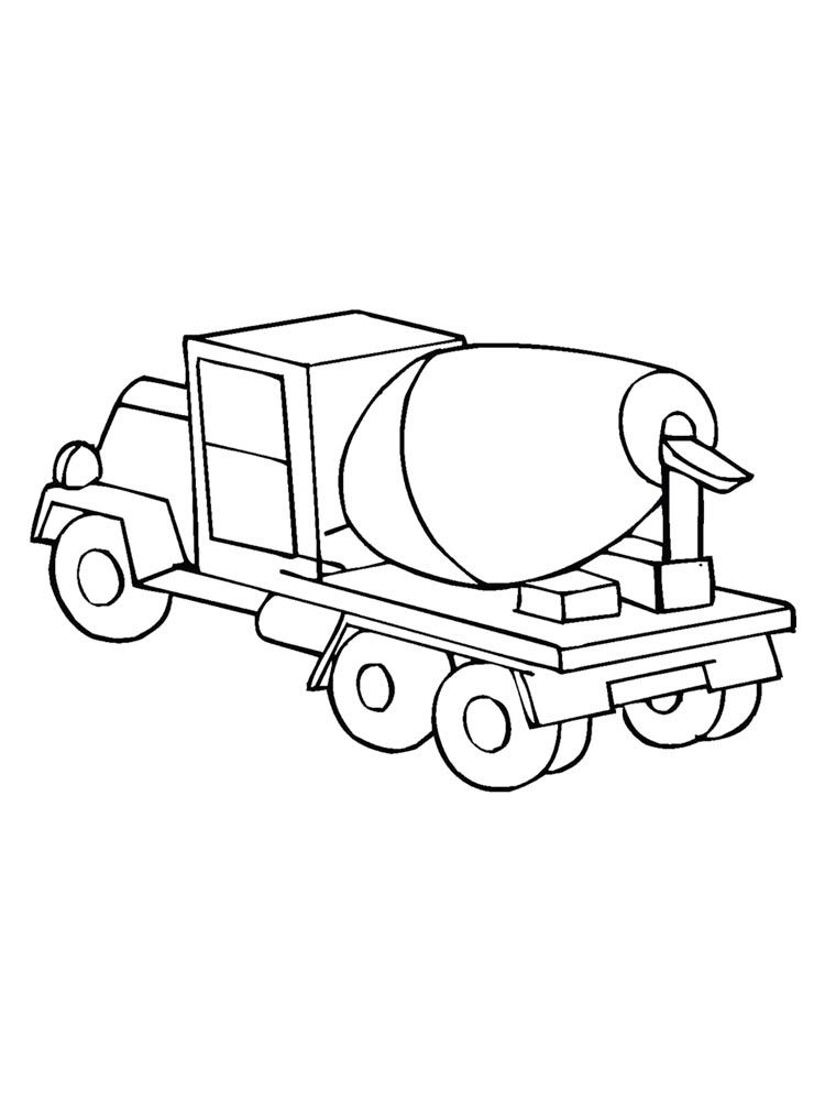 cement mixer coloring pages cement mixer coloring page twisty noodle coloring pages cement mixer