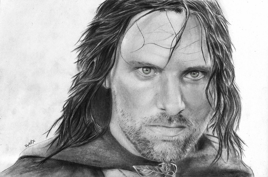 characters drawings one blog to rule them all character drawings aragorn drawings characters