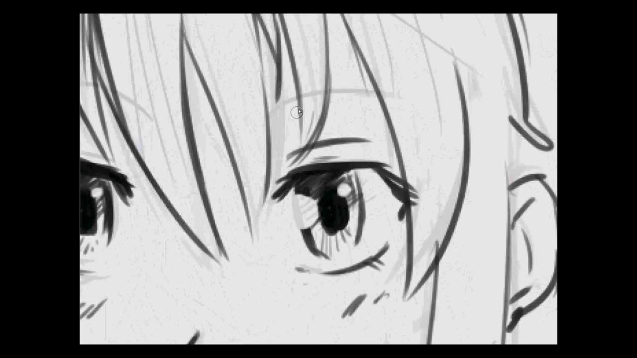 characters drawings tutorial how to draw typical anime character female characters drawings