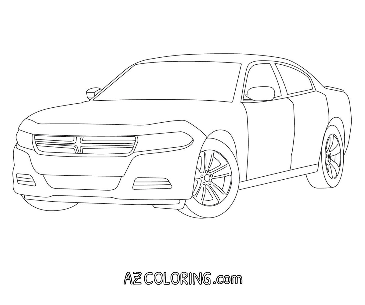 chargers coloring pages dodge charger coloring page at getcoloringscom free chargers pages coloring